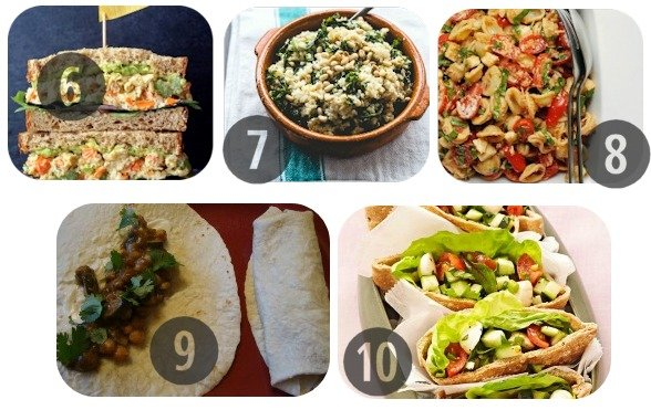 25 Healthy Lunch Recipes for Work 6-10