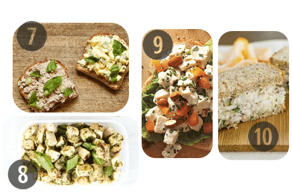 Healthy Cold Lunch Ideas 7-10
