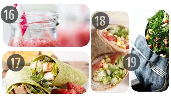 Healthy Cold Lunch Ideas 16-19
