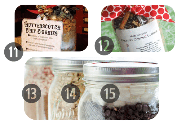 25 Mason Jar Cookie Recipes 11-15