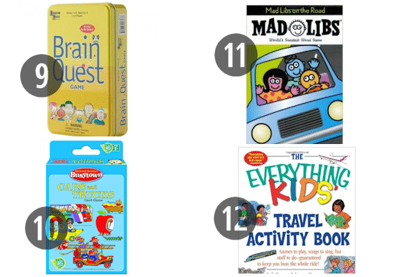 Travel Games for the Car 9-12