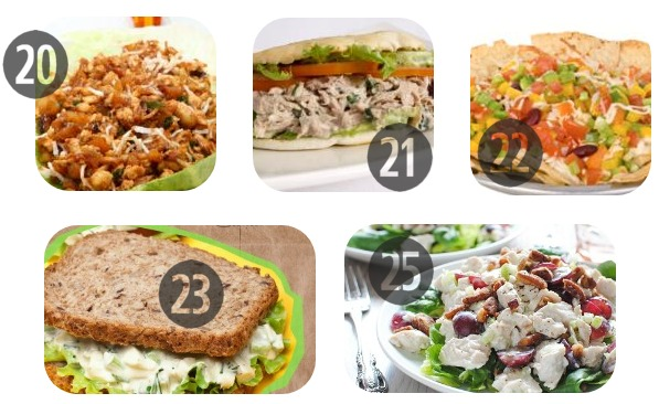 Healthy Cold Lunch Ideas 20-25