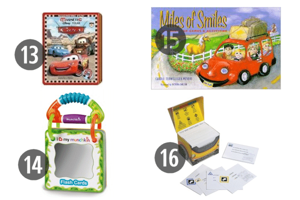 Travel Games for the Car 13-16