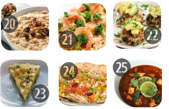25 Healthy Lunch Recipes for Work 20-25