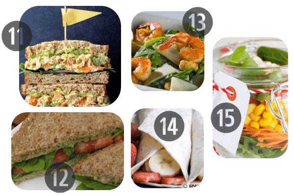 Healthy Cold Lunch Ideas 11-15
