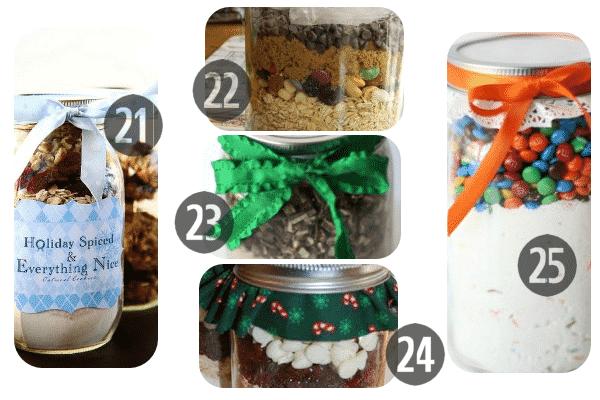 25 Mason Jar Cookie Recipes 21-25