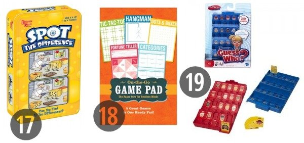 Travel Games for the Car 17-19