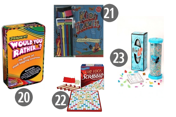 Travel Games for the Car 20-23