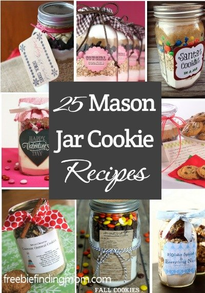 It's a mason jar cookie recipe! And since we L.O.V.E all of our readers almost as much as we love mason jars and chocolate chip cookies, we are also throwing in a FREE Printable for you to create your own jar of warm and gooey love!
