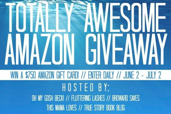 Enter the Totally Awesome Amazon Giveaway - Prize: $750 Amazon Gift Card