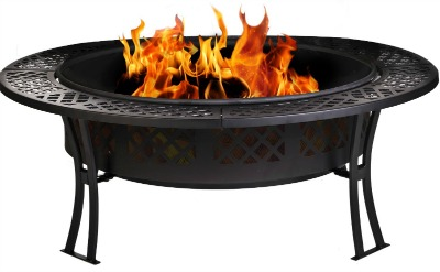 Amazon: CobraCo Diamond Mesh Fire Pit with Screen and Cover Only $119.99 Shipped (Regularly $249.99) - Today Only!