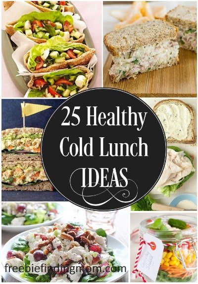 25 Delicious And Healthy Cold Lunch Ideas