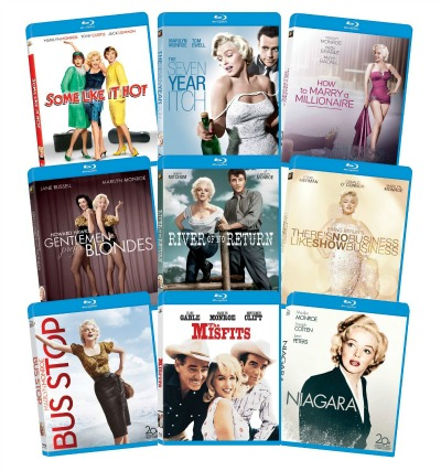 Amazon: Marilyn Monroe: Classic 9 Film Collection on Blu-Ray Only $38.99 Shipped (Regularly $199.99)