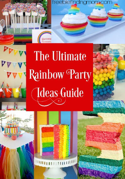 Diy Rainbow Party Decorations