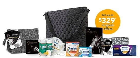 Free baby samples from Similac including free formula, baby products and more (up to $329 in gifts)!