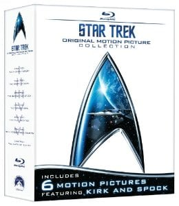Amazon: Over 65% Off Highly Rated Blu-Ray Collections for Star Trek and James Bond - Today Only!