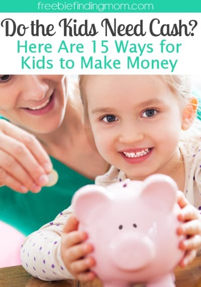 ways to earn money as a kid do the kids need cash here are 15 kids ways to make money 9605