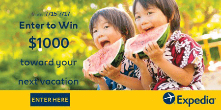 Enter to Win $1,000 Visa Gift Card Giveaway from Expedia (3 Total Winners)