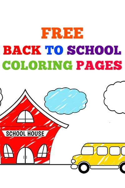 back to school coloring sheets printable