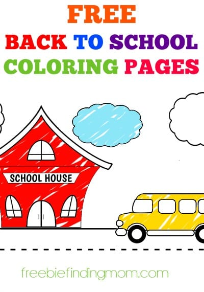Free Printable Back to School Coloring Sheets - Get the kids excited to start school with these fun back to school coloring sheets. Here's to a successful school year!