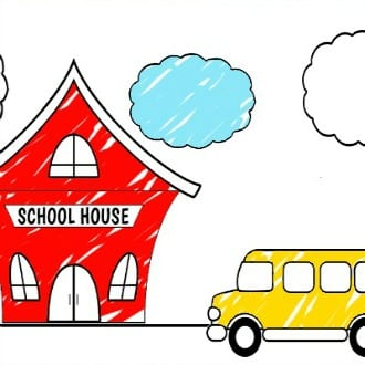 Free Printable Back to School Coloring Sheets