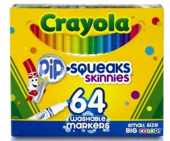 Crayola washable markets to promote how to get school supplies for free