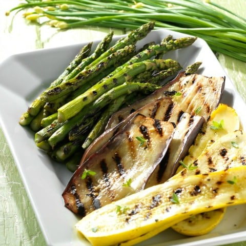 Fun Summer Recipes: Grilled Vegetables