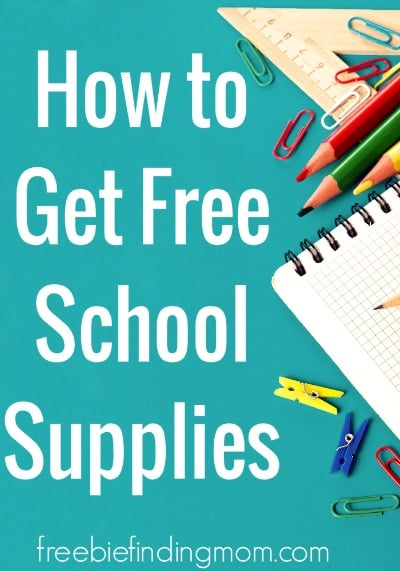 How to Get School Supplies for Free or on the Cheap - Even though we are constantly being inundated with back to school deals and sales, this time of year is mighty expensive for us parents. Here I share tips on how to save money on back to school shopping and even get school supplies for free or on the cheap.