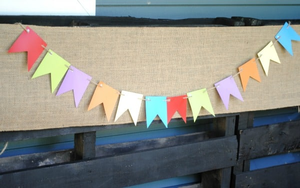 How to Make a Bunting Step 3