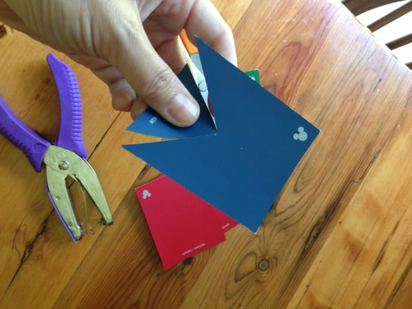 How to Make a Bunting Step 1