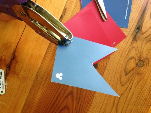 How to Make a Bunting Step 2