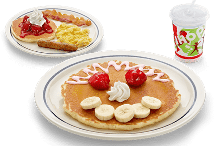 IHOP kids meal to promote where do kids eat free