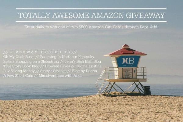 Enter to Win the $500 Amazon Gift Card Giveaway - Two Prizes Awarded!