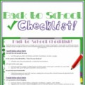 backtoschoolchecklist