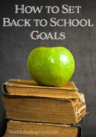 How to Set Back to School Goals - Collaboratively establishing goals with your children is a great way to motivate them to succeed and gain confidence in their abilities.