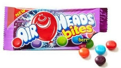 Airhead Bites Candy to promote this week's Kroger free Friday download