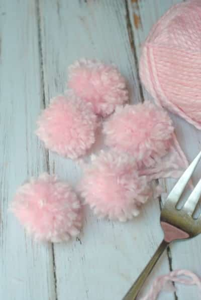 Make Your Own Gift Bows: Easy Pom Pom Gift Bow Tutorial 4
