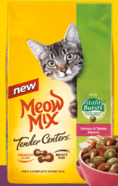 Freebie: FREE Meow Mix Cat Food Sample