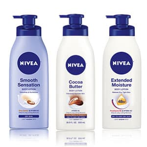 Freebie: FREE Nivea Cocoa Butter Body Lotion, Smooth Sensation or Extended Moisture Lotion Sample