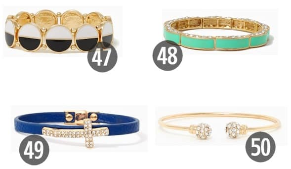 Chic and Cheap Women's Jewelry for Under $10 10