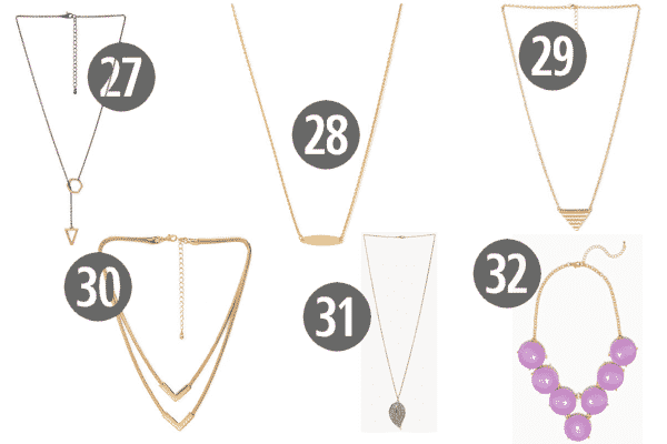 Chic and Cheap Women's Jewelry for Under $10 6