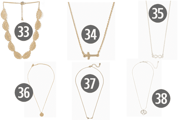 Chic and Cheap Women's Jewelry for Under $10 7