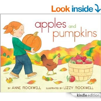Preschool Halloween Book 10 - Apples and Pumpkins