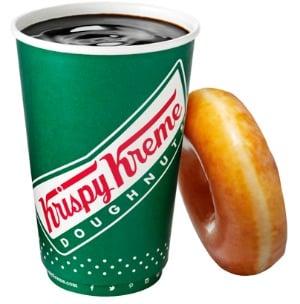 Krispy Kreme: FREE 12 oz Cup of Coffee on National Coffee Break Day (September 29)