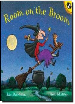 Preschool Halloween Book 3 - Room on the Broom