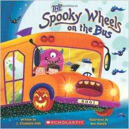 Preschool Halloween Book 2 - The Spooky Wheels on the Bus
