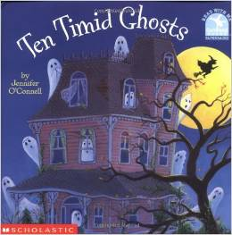 Preschool Halloween Book 1 - Ten Timid Ghosts