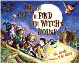 Preschool Halloween Book 7 - We're Off to Find the Witch's House