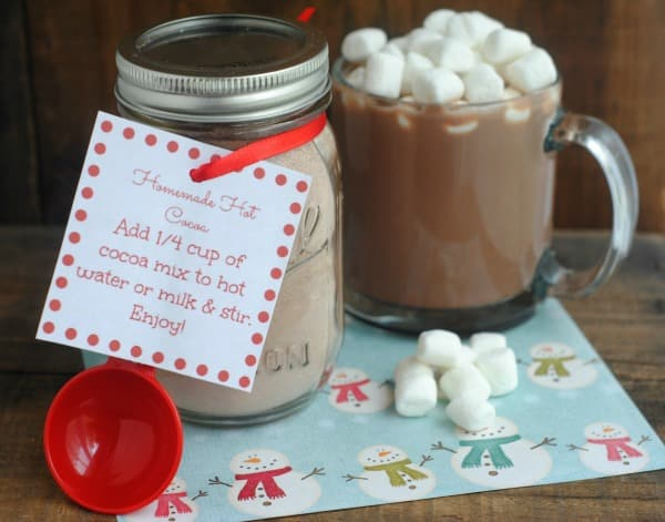 Hot Cocoa Mason Jar Gift 2