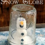 Crafts for Kids: Olaf Mason Jar Snow Globe